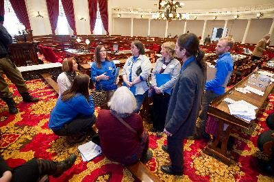 Early Childhood Educators at the State House